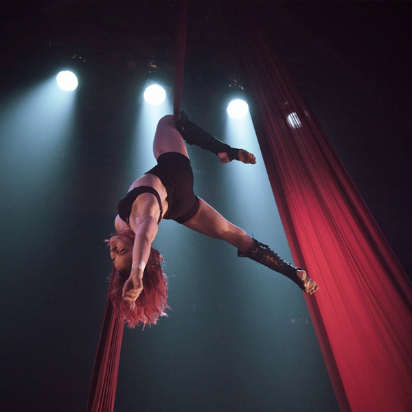 Aerial Silks & Ropes – Beginners