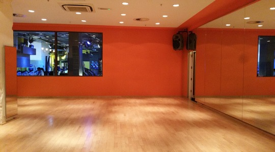 Gymbox Bank dance studio. LDA partner venue for dance parties in the City of London.