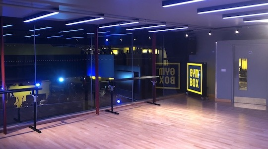 Gymbox Covent Garden studio