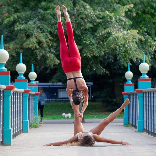 AcroYoga Partner Inversions Workshop with Erica Montes