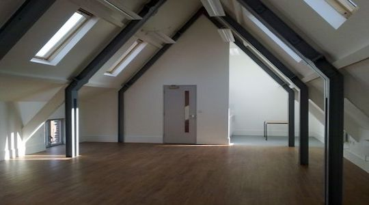 St Lukes Community Centre The Loft. LDA partner venue