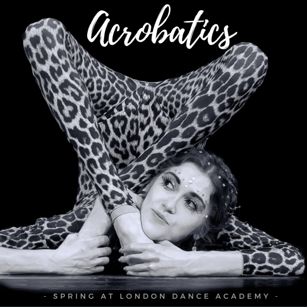 Challenge yourself with Acro and Contortion classes