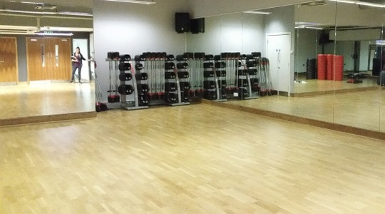 Bankside Health Club image of Studio. LDA partner venue for classes and parties near London Bridge and Blackfriars stations