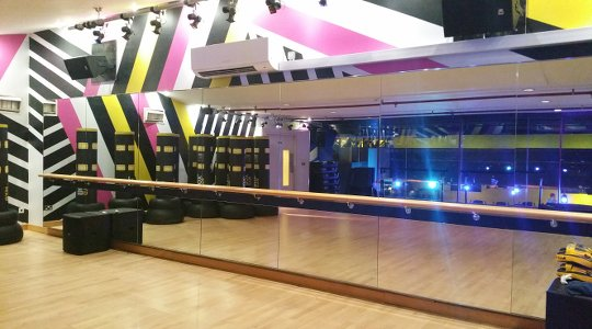 GymBox Covent Garden picture of the dance studio for LDA parties