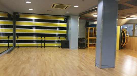 GymBox Holborn Studio picture. LDA partner venue for dance parties in Central London.