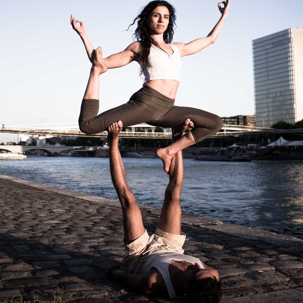 AcroYoga Fundamentals Workshop with Erica Montes