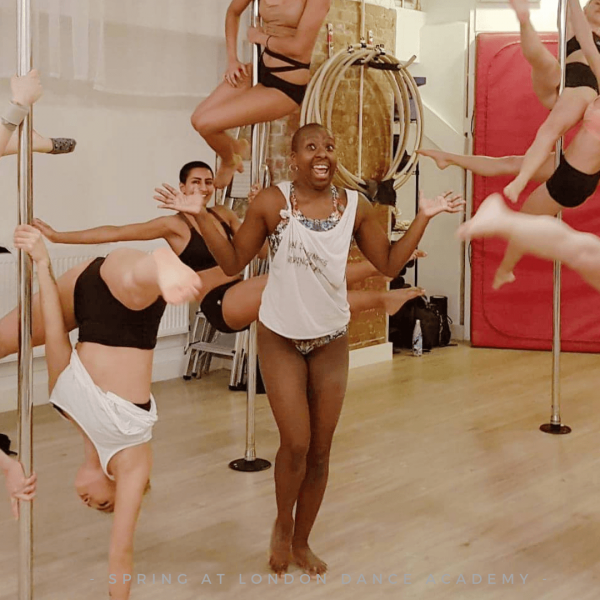 Why do we have Pole Practice classes at London Dance Academy?