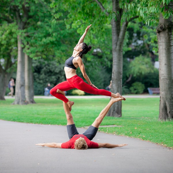 AcroYoga – Learn How to Fly Workshop with Erica Montes