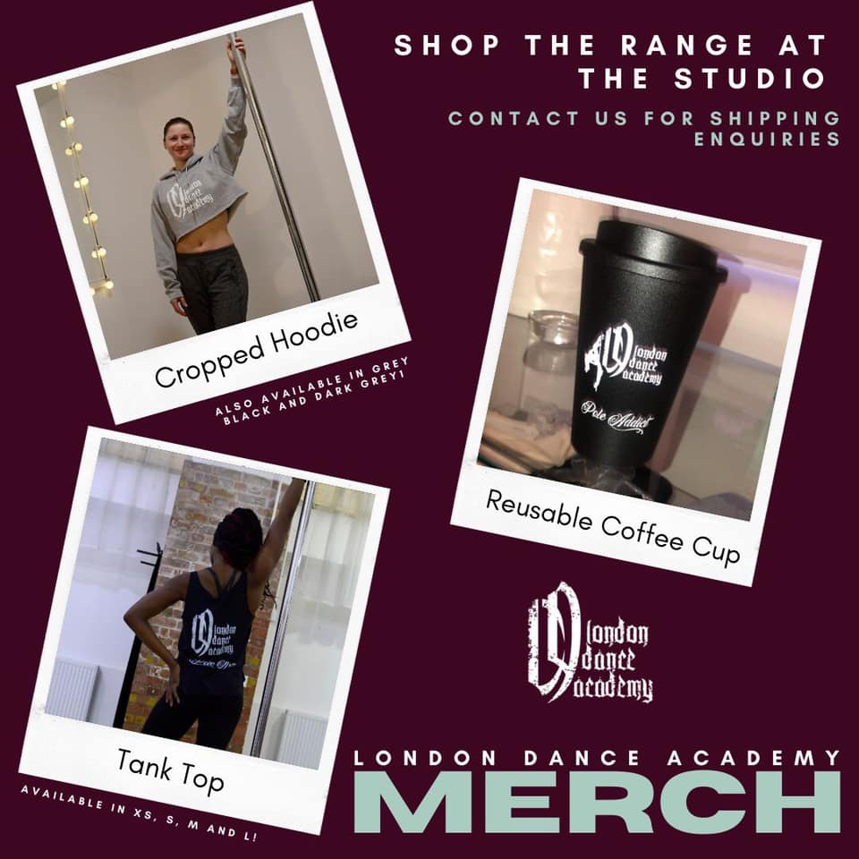 Pick up your London Dance Academy merch or buy gift cards online