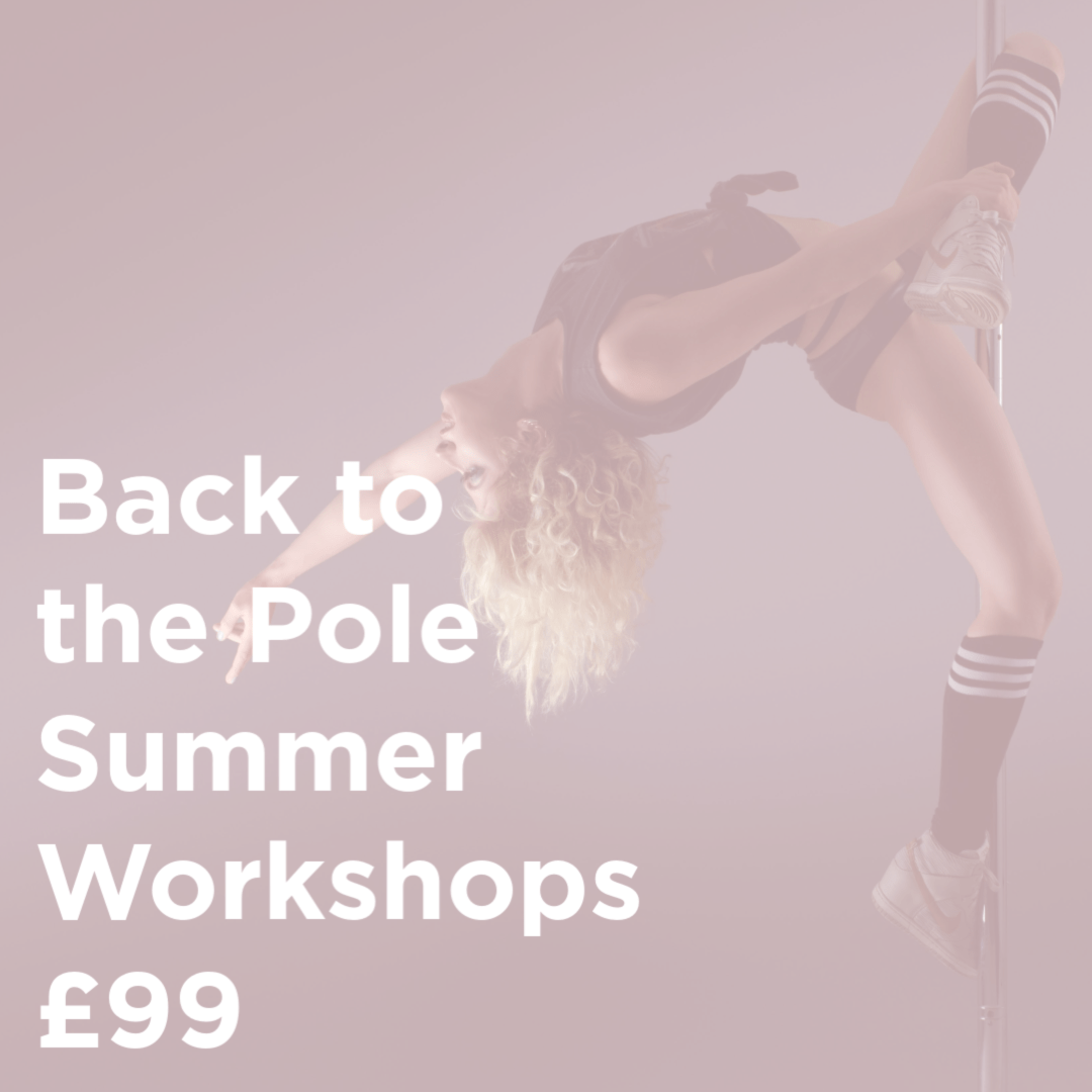 Back to Pole workshop for Level 2 and 3